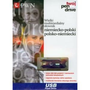 Wielki Multimedialny Słownik Niemiecko-Polski Polsko-Niemiecki PWN   Pendrive