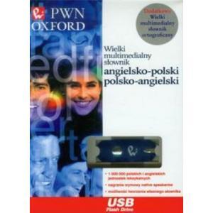Wielki Multimedialny Słownik Angielsko-Polsko-Angielski PWN-OXFORD PenDrive + Wielki Mulitmedialny Słownik Ortograficzny