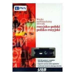 Wielki Multimedialny Słownik Rosyjsko-Polski Polsko-Rosyjski. Pendrive