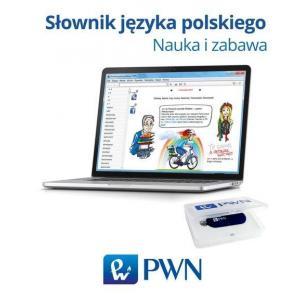 Słownik Języka Polskiego. Nauka i Zabawa. Pendrive
