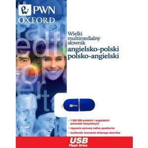 Wielki Multimedialny Słownik Angielsko-Polsko-Angielski PWN-Oxford PenDrive