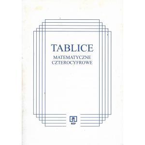 Tablice matematyczne czterocyfrowe