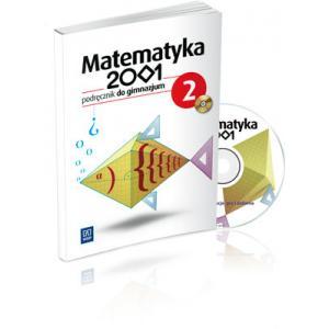Matematyka 2001. Podręcznik + CD. Klasa 2. Gimnazjum