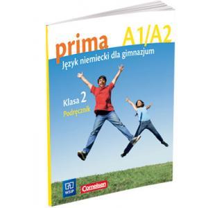 Prima A1/A2. Język Niemiecki dla Gimnazjum. Podręcznik. Klasa 2