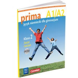 Prima A1/A2. Język Niemiecki dla Gimnazjum. Ćwiczenia. Klasa 2