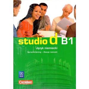 Studio d B1 Sprachtraining. Język niemiecki.  Zeszyt ćwiczeń