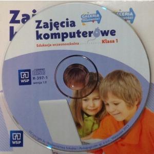 Zajęcia komputerowe Szkoła Podstawowa kl. 1 podręcznik na CD