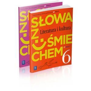 ZxxxSłowa z uśmiechem kl. 6 Literatura i kultura + słowniczek wyd. 2014