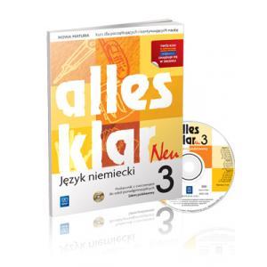 Alles Klar Neu 3  Podręcznik z ćwiczeniami +CD podstawowy