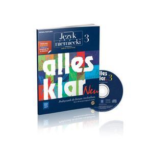 Alles Klar Neu 3  Podręcznik+CD zakres rozszerzony - 2014