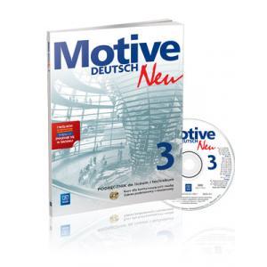 Motive Deutsch NEU 3. Podręcznik z Ćwiczeniami + CD. Kurs Dla Kontynuujących Naukę