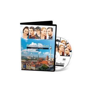 Ab nach Berlin. Język Niemiecki. Filmy Edukacyjne. Część 1-2. DVD. Gimnazjum, Szkoła Ponadgimnazjalna