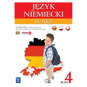 Punkt klasa 4. Język niemiecki (podręcznik wieloletni +CD audio)
