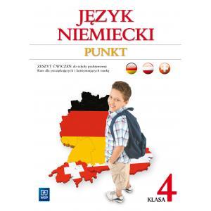 Punkt klasa 4. Język niemiecki. Kurs dla początkujących i kontynuujących naukę (materiał ćwiczeniow