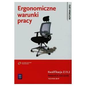 Ergonomiczne Warunki Pracy Kwalifikacja Z.13.2. Podręcznik do Nauki Zawodu Technik BHP
