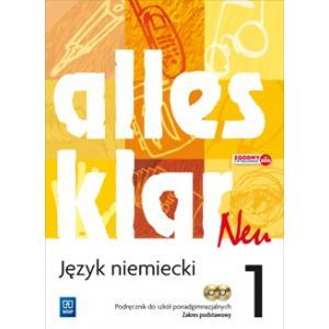 Alles Klar Neu 1 Podręcznik + CD Zakres podstawowy (S)