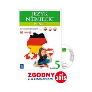 Punkt. Język Niemiecki. Podręcznik Wieloletni + CD. Klasa 5