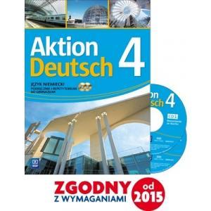 Aktion Deutsch 4 Język niemiecki Podręcznik i repetytorium + 2CD. Kurs kontynuacyjny