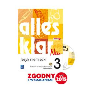 Alles Klar Neu 3. Podręcznik + CD. Zakres Podstawowy
