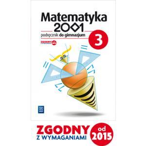 Matematyka 2001. Podręcznik Wieloletni. Klasa 3. Gimnazjum