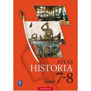 Atlas. Historia. Klasy 7-8. Szkoła Podstawowa