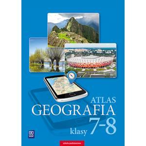 Atlas. Geografia. Klasy 7-8. Szkoła Podstawowa