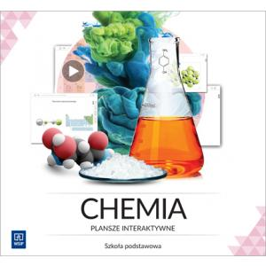 Chemia. Plansze Interaktywne. Licencja 3-Stanowiskowa. Szkoła Podstawowa