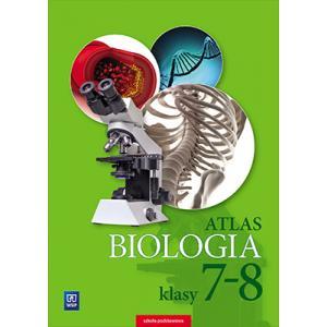 Atlas. Biologia. Klasy 7-8. Szkoła Podstawowa