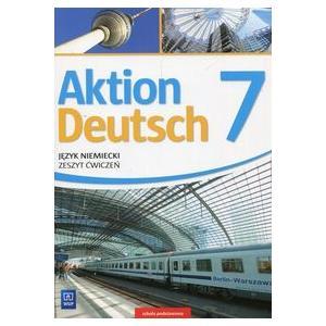 Aktion Deutsch. Język niemiecki. Szkoła podstawowa klasa 7. Materiał ćwiczeniowy