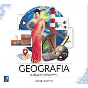 Geografia. Plansze Interaktywne. Licencja 3-Stanowiskowa. Szkoła Podstawowa