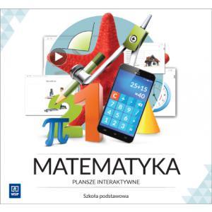 Matematyka. Plansze Interaktywne. Licencja 3-Stanowiskowa. Szkoła Podstawowa