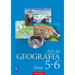Atlas. Geografia. Klasy 5-6. Szkoła Podstawowa