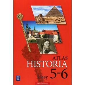 Atlas. Historia. Klasa 5-6. Szkoła Podstawowa
