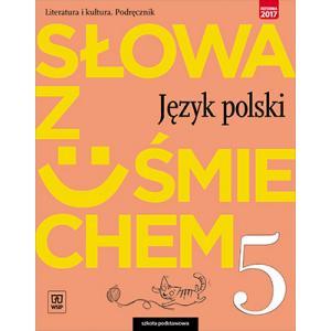 Słowa z Uśmiechem. Literatura i Kultura. Język Polski. Podręcznik. Klasa 5. Szkoła Podstawowa