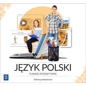 Plansze Interaktywne. Szkoła Podstawowa. Język Polski - Pendrive