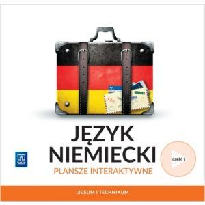 Język niemiecki. Liceum i technikum. Plansze interaktywne część 1. Zakres podstawowy i rozszerzony