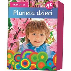 Planeta dzieci. Trzylatek. BOX