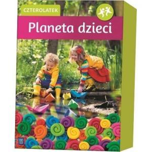 Planeta dzieci. Czterolatek. BOX