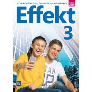 Effekt 3. język niemiecki. Liceum i technikum. Zeszyt ćwiczeń