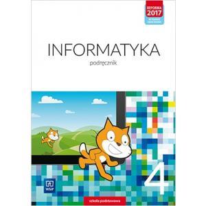 Informatyka. Szkoła podstawowa. Klasa 4. Podręcznik. Nowa edycja 2020-2022