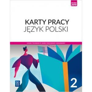Język polski 2. Liceum i technikum. Karty pracy. Zakres podstawowy i rozszerzony