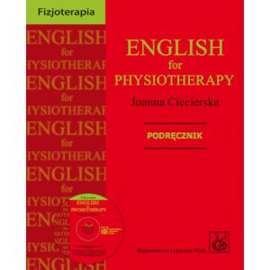 English for Physiotherapy Podręcznik +CD