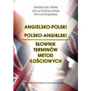 Angielsko-Polski Polsko Angielski Słownik Terminów Metod Ilościowych