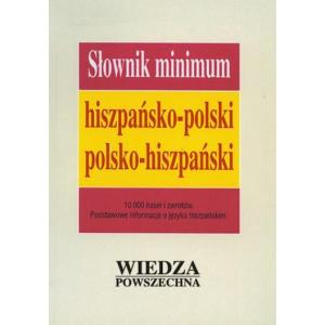 WP Słownik minimum hiszpańsko-polski-hiszpański