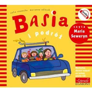 Basia i podróż / Basia i przedszkole. Audiobook 2 w 1 + CD