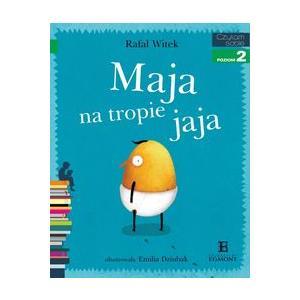 Czytam sobie Maja na tropie jaja Poziom 2