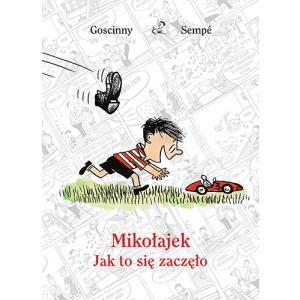 Mikołajek Jak to się zaczęło /komiks/
