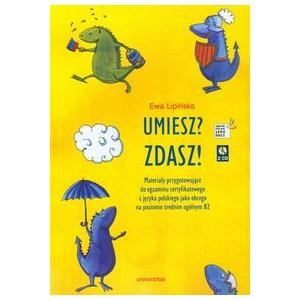 Umiesz? Zdasz! Lipińska, Ewa. Podręcznik + 2 CD. Opr. mk