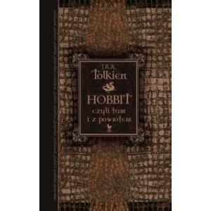 Hobbit czyli tam i z powrotem oprawa twarda