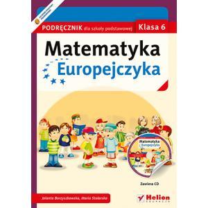 Matematyka Europejczyka. Podręcznik + CD. Klasa 6. Szkoła Podstawowa
